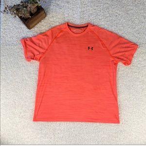 Men's XL Under Armour Orange T-Shirt